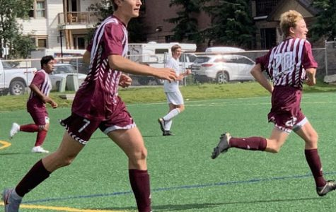 Telluride Men's Soccer Team plays against Crested Butte
