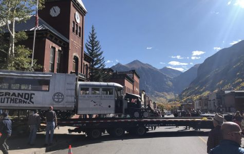 Telluride's Galloping Goose No. 4 took a trip to Ridgway for the