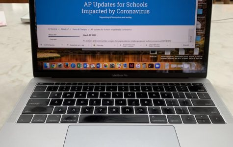 Advanced Placement testing to be offered online for seniors.
